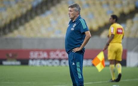 Domènec Torrent tem mostrado evolução no comando do Flamengo (Foto: Alexandre Vidal/Flamengo)