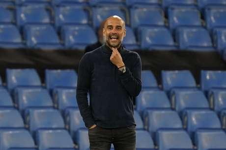 Guardiola está preocupado com o excesso de jogos do Manchester City (Foto: TIM KEETON / POOL / AFP)