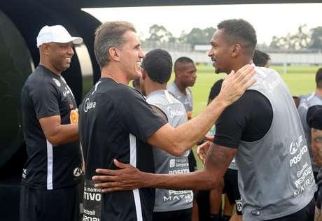 Vagner Mancini aguarda Jô para definir esquema do Corinthians (Foto: Rodrigo Coca/Ag. Corinthians)
