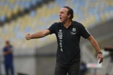 Cuca durante Fluminense x Santos (Foto: Ivan Storti/Santos)