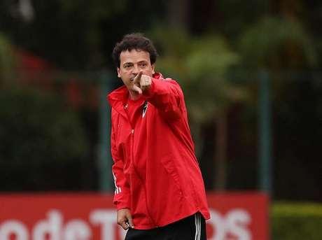 Fernando Diniz levou o São Paulo para as quartas de final da Copa do Brasil, fase que o clube não participava desde a temporada 2015 (Rubens Chiri/saopaulofc.net)