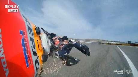Álex Márquez teve o primeiro abandono no GP de Teruel