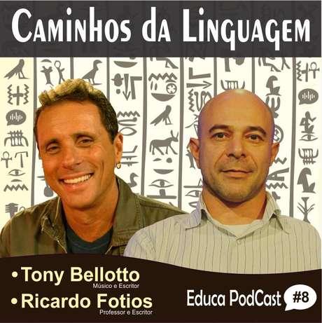 Tony Bellotto e Ricardo Fotios debatem literaturas, artes e rumos da linguagem