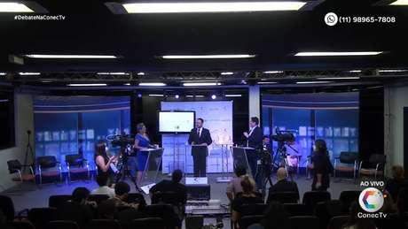 Candidatos à Prefeitura de São Paulo participaram de debate nesta segunda-feira, 26