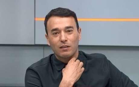 Apresentador do Sportv fez críticas ao Palmeiras (Foto: Reprodução)