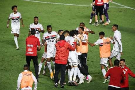 São Paulo vem de uma classificação emocionante na Copa do Brasil (Fotos: Paulo Pinto / saopaulofc.net)