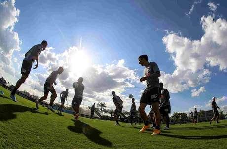 Corinthians encerrou a preparação para enfrentar o América-MG (Foto:Rodrigo Coca/Agência Corinthians)