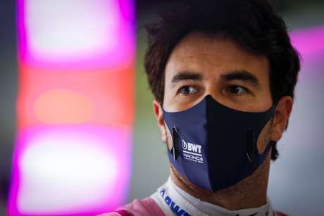 Sergio Pérez, que ainda não tem emprego para 2021, também permaneceu na garagem