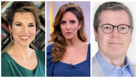 Gloria Vanique, Monalisa Perrone e Márcio Gomes foram contratados pela CNN Brasil