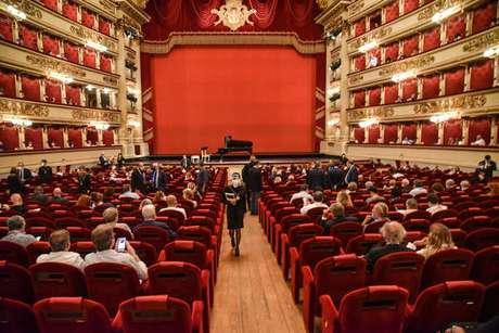 Palco do Teatro alla Scala, em Milão