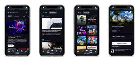 Novo PlayStation App (Imagem: divulgação/PlayStation)