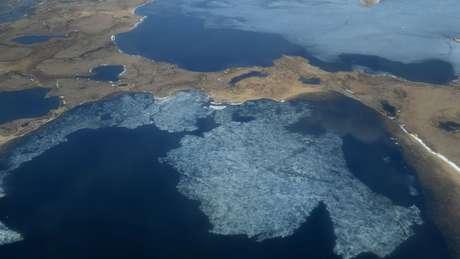 O Ártico é uma das partes do mundo mais vulneráveis às mudanças climáticas