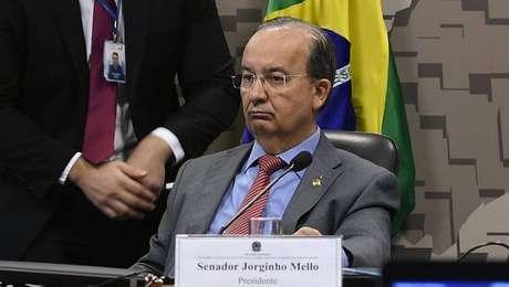 O senador Jorginho Mello (PL-SC) é um dos novos vice-líderes do Governo