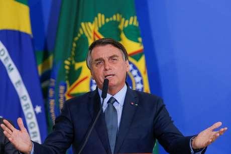 Presidente Jair Bolsonaro durante cerimônia no Palácio do Planalto 16/09/2020 REUTERS/Adriano Machado