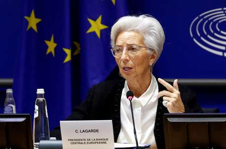 Presidente do Banco Central Europeu, Christine Lagarde. REUTERS/Francois Lenoir/File Photo