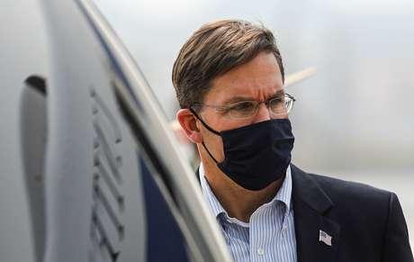 Secretário de Defesa dos EUA, Mark Esper  26/10/2020 REUTERS/Adnan Abidi