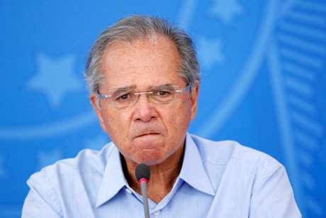 Ministro da Economia, Paulo Guedes 03/04/2020 REUTERS/Adriano Machado