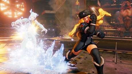 Kolin V-Trigger em Street Fighter V (Imagem: Reprodução / Capcom)