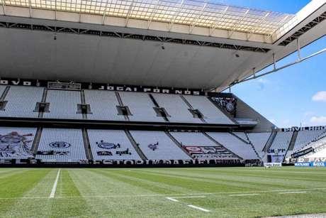 Corinthians venceu apenas um dos últimos oito jogos na Neo Química Arena (Foto: Reprodução/Twitter Corinthians)