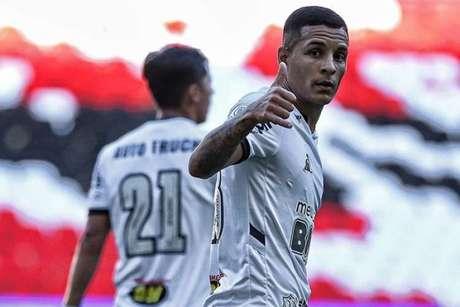 Guilherme Arana vem fazendo um bom Brasileiro pelo Galo e entrou na lista de espera de Tite-(Bruno Cantini/Atlético-MG)