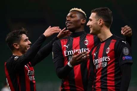 Jovens do Milan se destacaram (MARCO BERTORELLO / AFP)