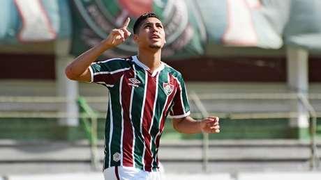 Luis Gustavo estreou e marcou um dos gols do Fluminense na partida (Foto: Mailson Santana/Fluminense FC)