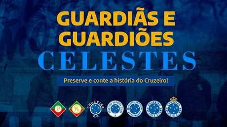 O Cruzeiro criou o projeto para recuperar relíquias de sua história-(Reprodução/Cruzeiro)