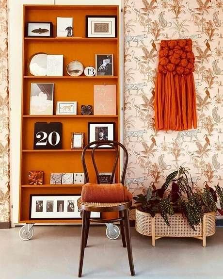 29. A Begônia Maculata é uma planta que combina perfeitamente com uma decoração retrô. Fonte: Pinterest