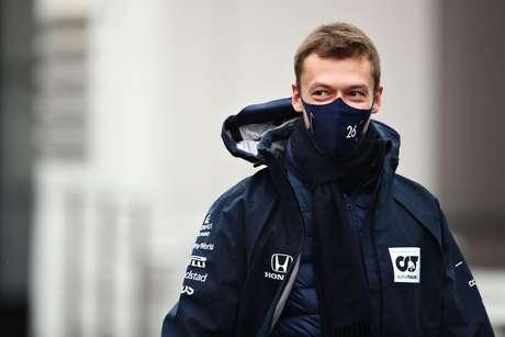 Daniil Kvyat admitiu não pensar muito em seu futuro na F1