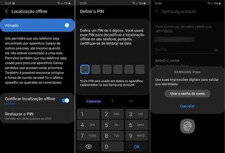 Samsung libera recurso para encontrar celulares Galaxy offline no Brasil (Imagem: Reprodução/Samsung)