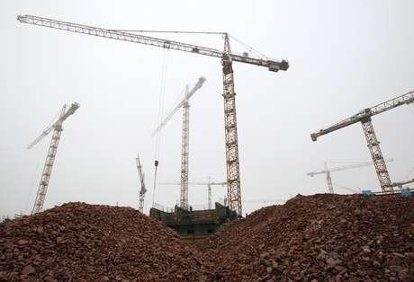 Construção em Viena. REUTERS/Heinz-Peter Bader