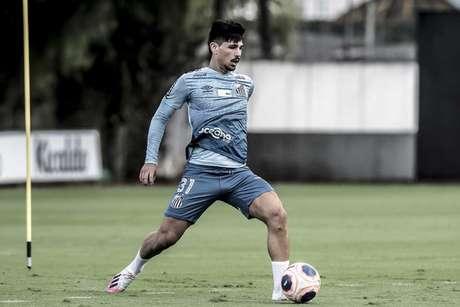 Embora seja Menino da Vila, Anderson Ceará deve ganhar rodagem em outro clube (Foto:Ivan Storti/Santos FC)
