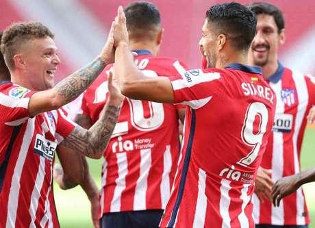 Atlético tem 11 pontos em cinco jogos. Clube tem duas partidas a menos (Foto: Ángel Gutiérrez / Atlético de Madrid)