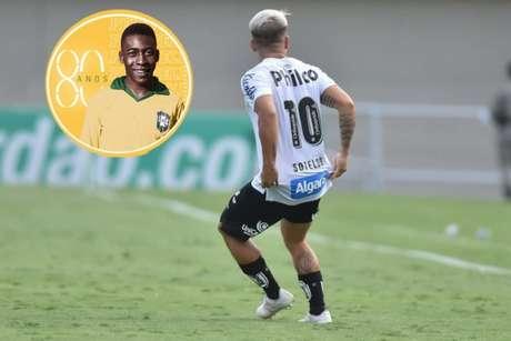Soteldo é o camisa 10 do Santos desde que chegou ao clube, em janeiro de 2019 (Foto: Ivan Storti/Santos)