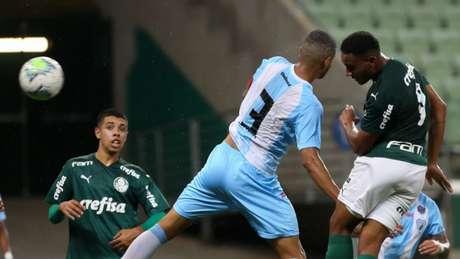 Palmeiras venceu o Londrina no Allianz Parque pela Copa do Brasil sub-20 (Foto: Fabio Menotti/Palmeiras)