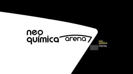 Nova identidade visual da Neo Química Arena foi apresentada em jogo da Copa do Brasil (Foto: Divulgação)