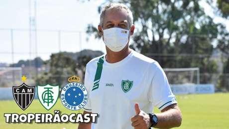 Lisca tem feito um trabalho muito bom no América-MG, que se consolidou no G4 da Série B e pode alcançar uma inédita fase quartas de final da Copa do Brasil-(Mourão Panda/América-MG)