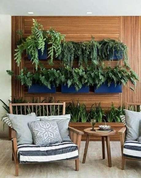 2. É importante saber escolher as espécies corretas de plantas para varanda – Foto: Pinterest