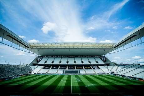 Camarote na Neo Química Arena receba torcedores em jogo do Corinthians fora de casa
