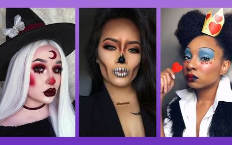 Maquiagens de Halloween: 14 ideias incríveis para se inspirar