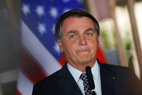 Presidente Jair Bolsonaro durante cerimônia no Palácio Itamaraty em Brasília 20/10/2020 REUTERS/Adriano Machado