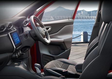 Nissan Magnite: 70 cm de espaço para os passageiros.