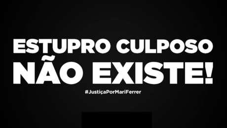 Clubes se mobilizam em defesa de Mariana Ferrer.