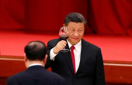 Presidente da China, Xi Jinping. REUTERS/Thomas Peter/File Photo