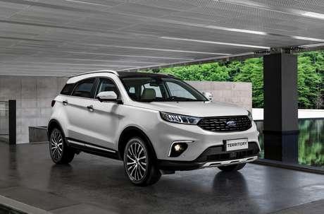 Ford Territory: valorização de R$ 5.000 no carro usado do cliente.