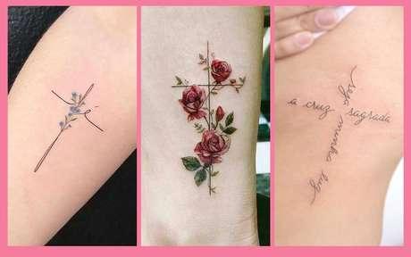 Tatuagem de cruz: 14 opções cheias de significado para se inspirar