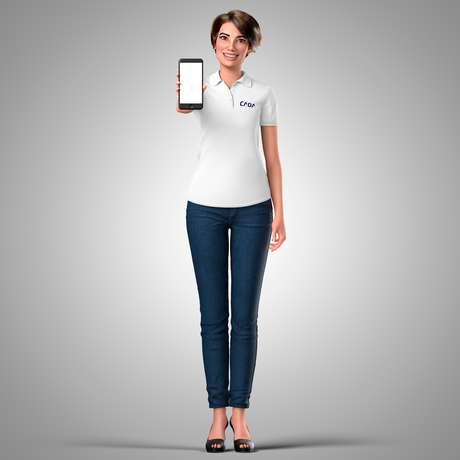 Areta, sigla de Assistente Remota de Atendimento, é a nova personagem para falar com os clientes da Caoa no pós-venda digital.