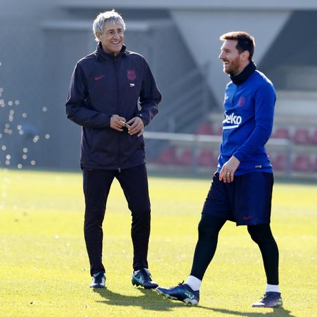 Quique Setién estreia no comando do Barcelona neste domingo, contra o Granada (Foto: Divulgação/Barcelona)