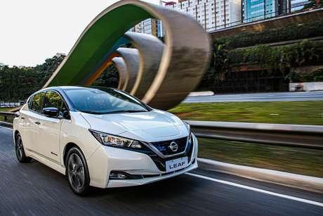 Nissan Leaf: primeiro carro 100% elétrico da montadora japonesa fica mais acessível no Brasil.