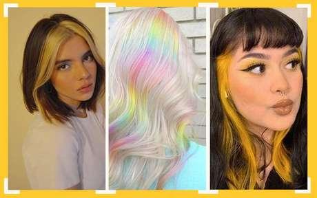 Tendências de cabelo colorido: inspire se na hora de mudar o visual